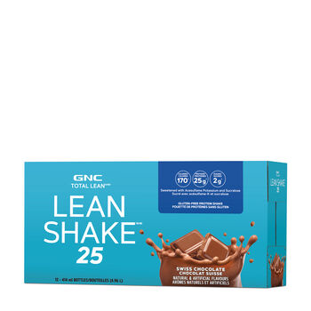 Lean Shake™ 25 To Go Bottles Swiss Chocolate | GNC
