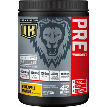 PRE Workout Pineapple Mango | GNC
